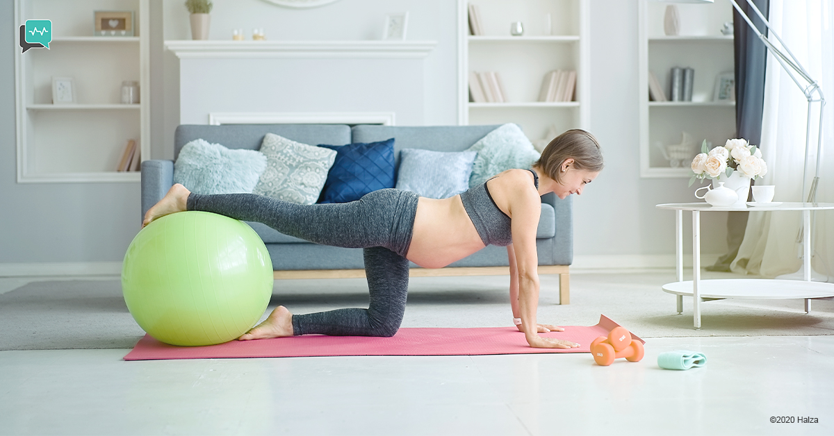 exercises for pregnant women pelvic floor exercises halza digital health