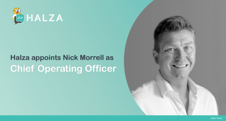 Halza appoints Nick Morrell as Chief Operating Officer