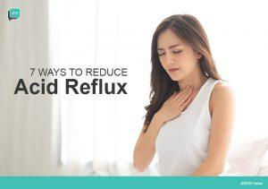 7 Ways to Reduce Acid Reflux