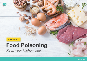 Prevent Food Poisoning: Keep Your Kitchen Safe