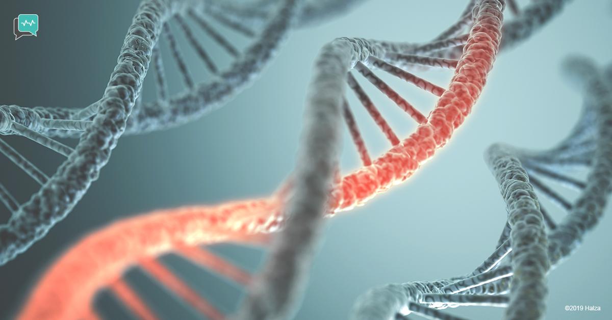 ovarian cancer symptoms treatment risk BRCA1 BRCA 2 genetic testing risks halza
