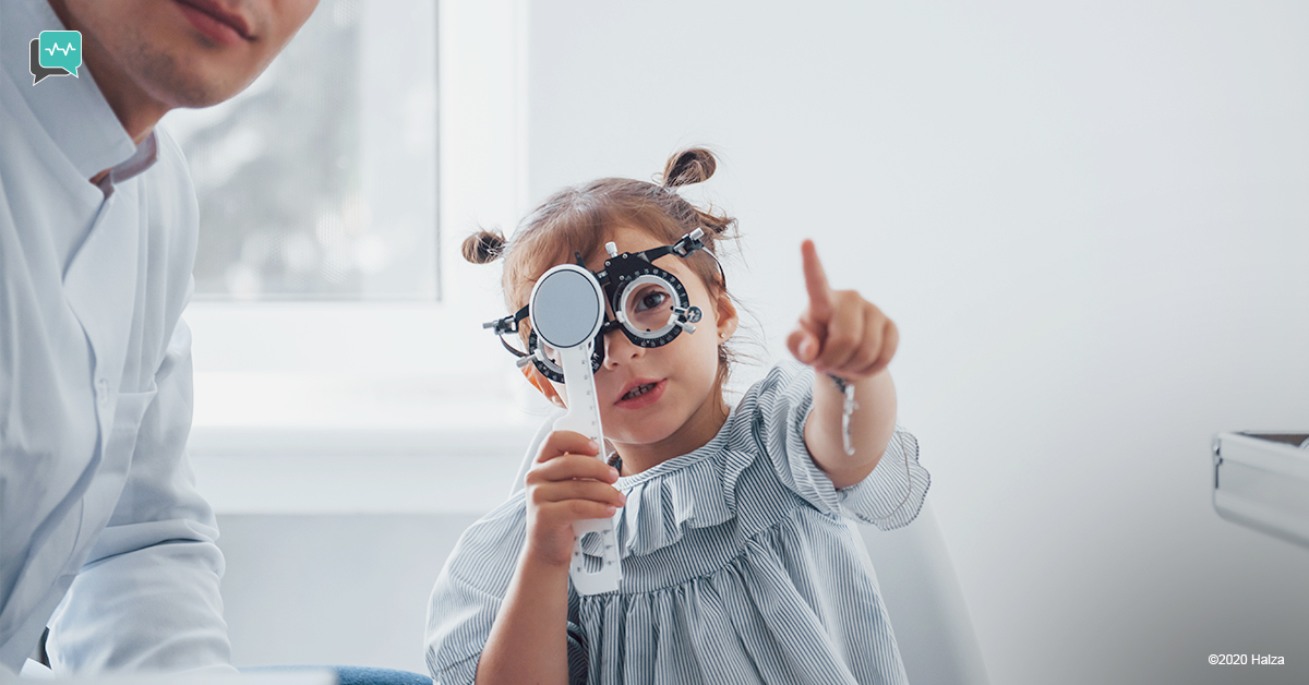 vision screening hearing test visual impairment hearing loss kids children halza digital health