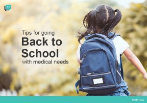 Back to School Preparation for Kids with Special Medical Needs