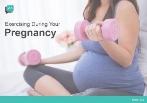 Exercising During Pregnancy – A Guide