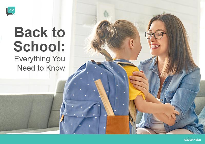 back to school checklist elementary school kindergarten primary school halza digital health
