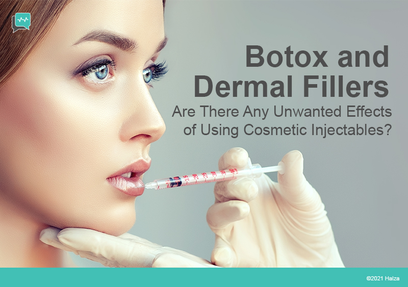 injectables botox dermal fillers long term effects side effects halza digital health