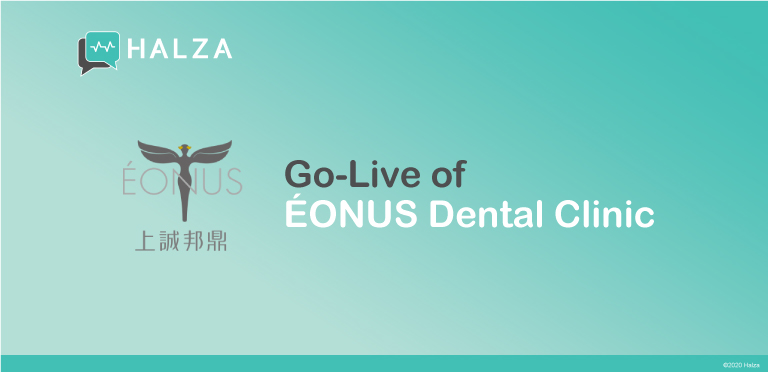 ÉONUS Dental Clinic, Halza App, digital health