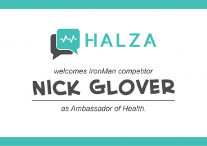 Halza to welcome IronMan competitor Nick Glover as Ambassador of Health