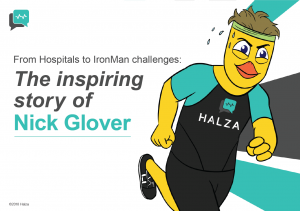 From Hospitals to IronMan challenges: the inspiring story of Nick Glover